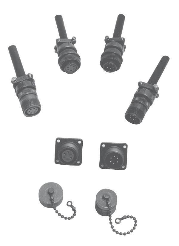 RICE LAKE 6 POSITION CONNECTORS, SHELLPLUGS, RECEPTACLES
