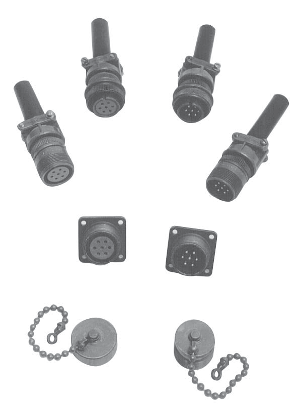 RICE LAKE 7 POSITION CONNECTORS, SHELLPLUGS, RECEPTACLES