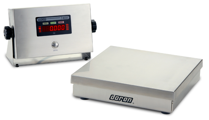 DORAN 7400 STAINLESS STEEL DIGITAL BENCH SCALE