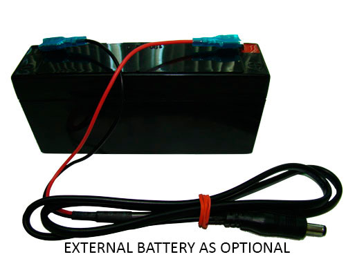 External Battery Option for Weigh Indicator