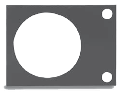 RICE LAKE SUMMIT® 3000 SCALE BASE MOUNTING PLATE