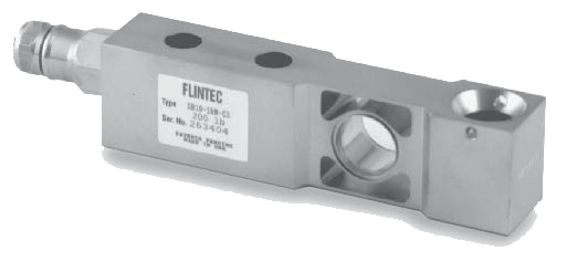 FLINTEC SB10 SINGLE-ENDED BEAM, STAINLESS STEEL 520 lb (2.3 kN*/235.9 kg)