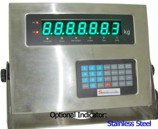 stainless steel indicator