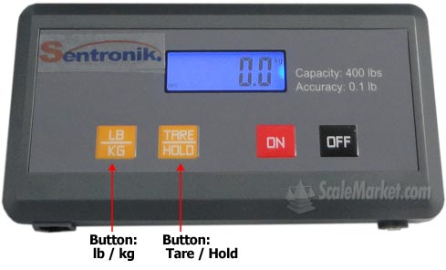 indicator bench scale