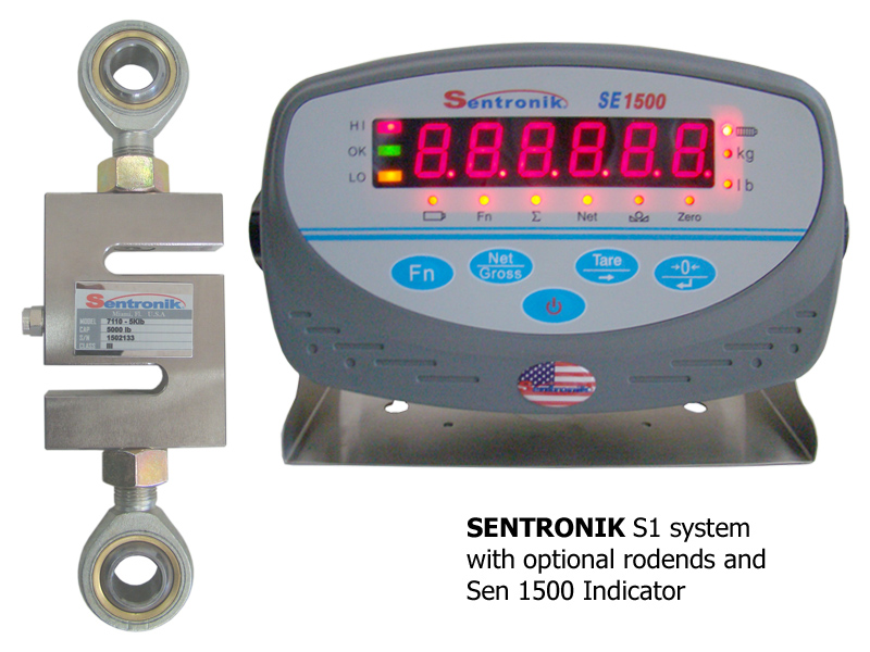 sentronik s1 system rodends and weigh indicator
